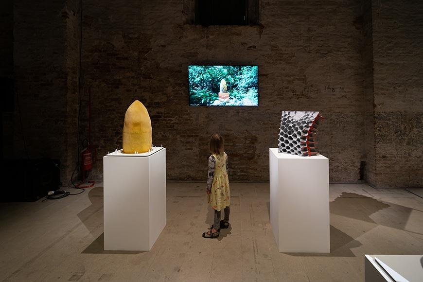 Studio Libertiny, beehive architecture, Arsenale, Venice Biennale 2021 Bianchini Inexhibit 2s