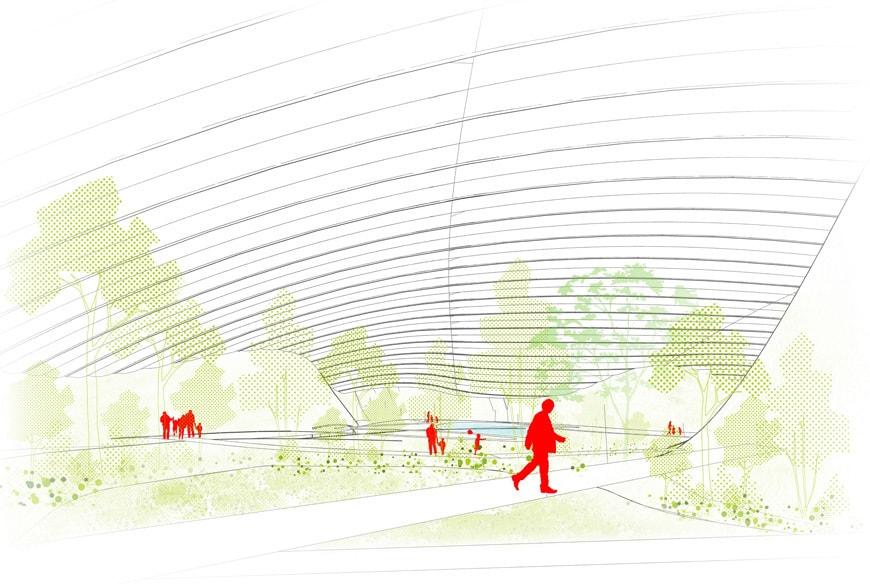 Tropicalia-Zuecca-Biennale-architettura-the-dome-interior-drawing©Coldefy