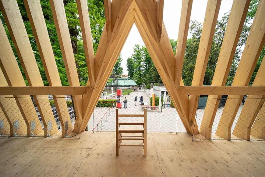 United States Pavilion, Venice Architecture Biennale 2021, Bianchini Inexhibit 02s