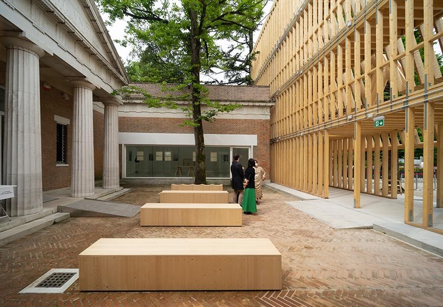 United States Pavilion, Venice Architecture Biennale 2021, Bianchini Inexhibit 17s