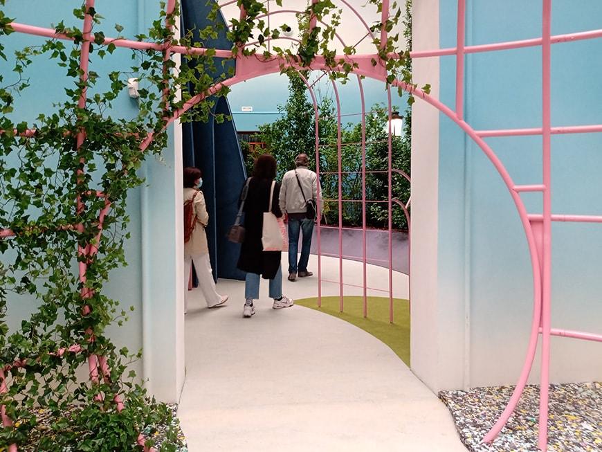 British Pavilion, Garden of Privatised Delights, Venice Architecture Biennale 2021, Lusiardi Inexhibit
