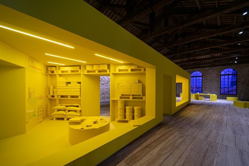 Turkish Pavilion, Venice Architecture Biennale 2021, Bianchini Inexhibit 2s