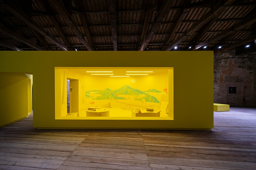 Turkish Pavilion, Venice Architecture Biennale 2021, Bianchini Inexhibit 6s