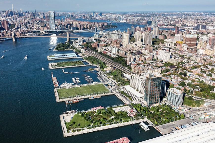 11-biennial-of-landscape-Barcelona-Brooklyn Bridge Park-Birdseye View