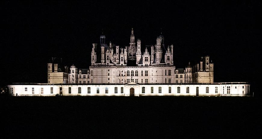 Château de Chambord castle, Loire Valley, exterior 3