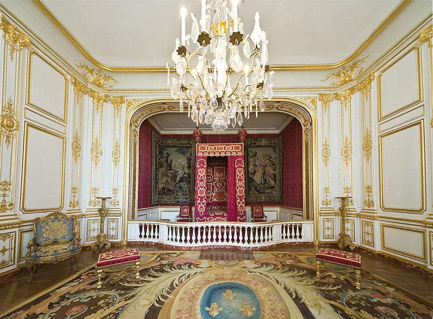 Château de Chambord castle, inside