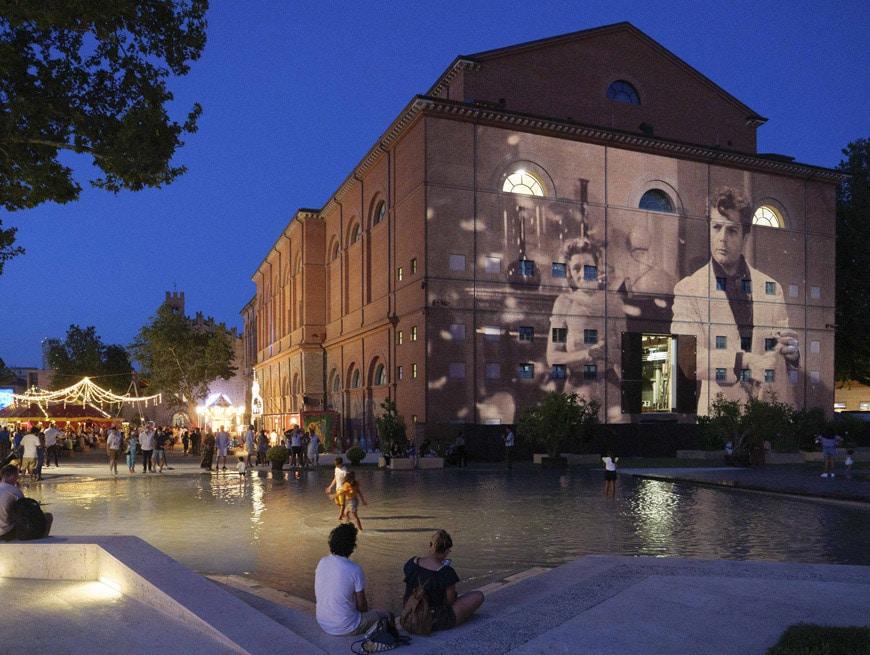 Fellini Museum Rimini, Piazza Malatesta