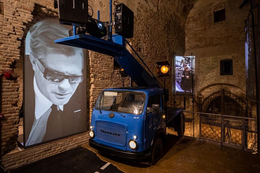 Fellini Museum Rimini, permanent exhibition 1