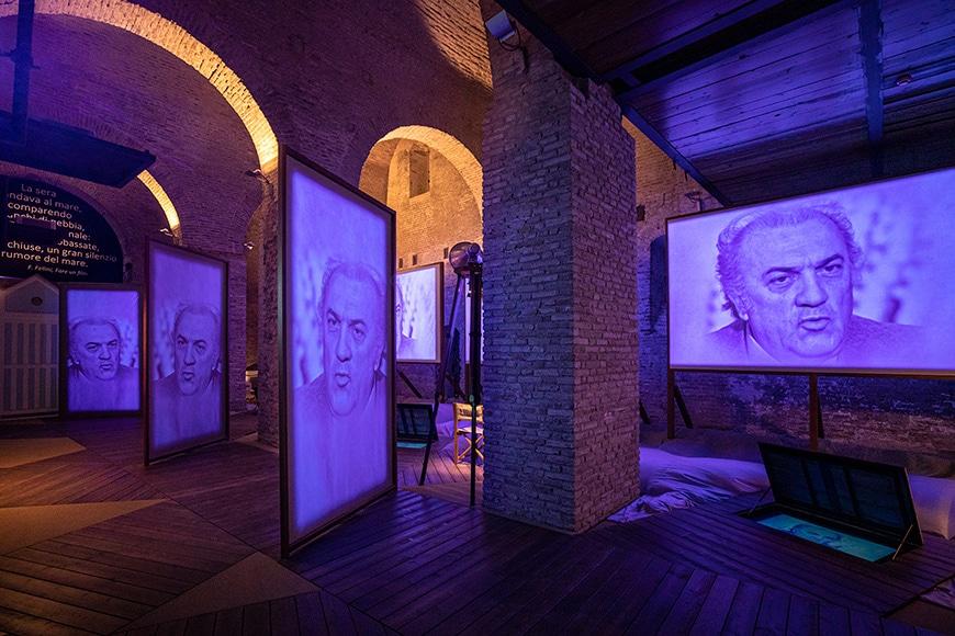 Fellini Museum Rimini, permanent exhibition 2