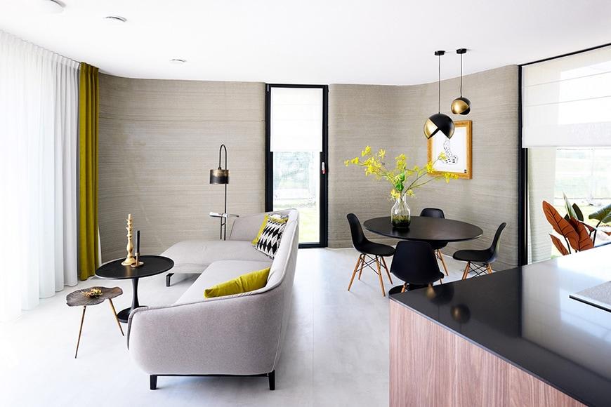 Project Milestone 3D-printed concrete house, Eindhoven, interior