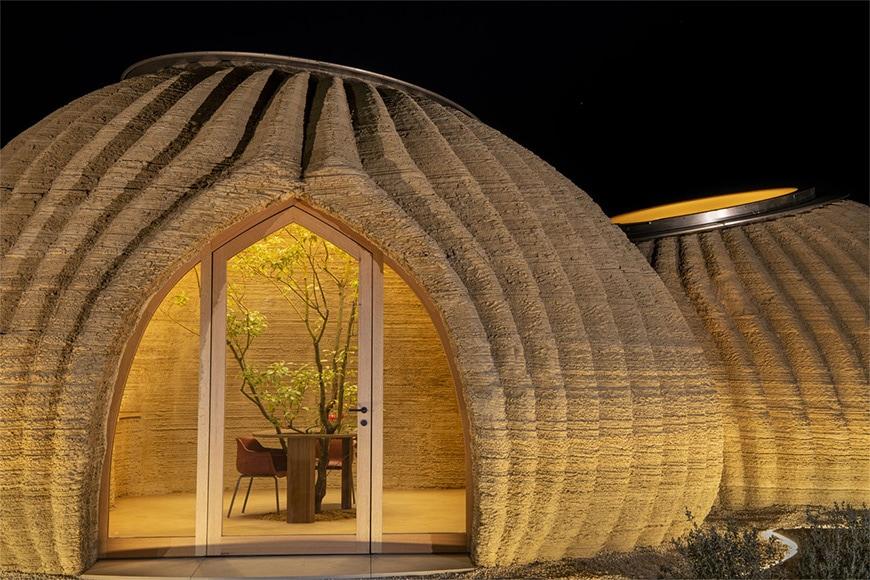 TECLA 3D-printed house Mario Cucinella Architects