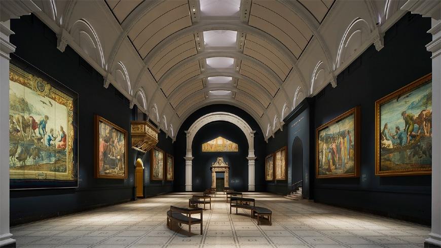 Victoria & Albert Museum, London, Raphael Court