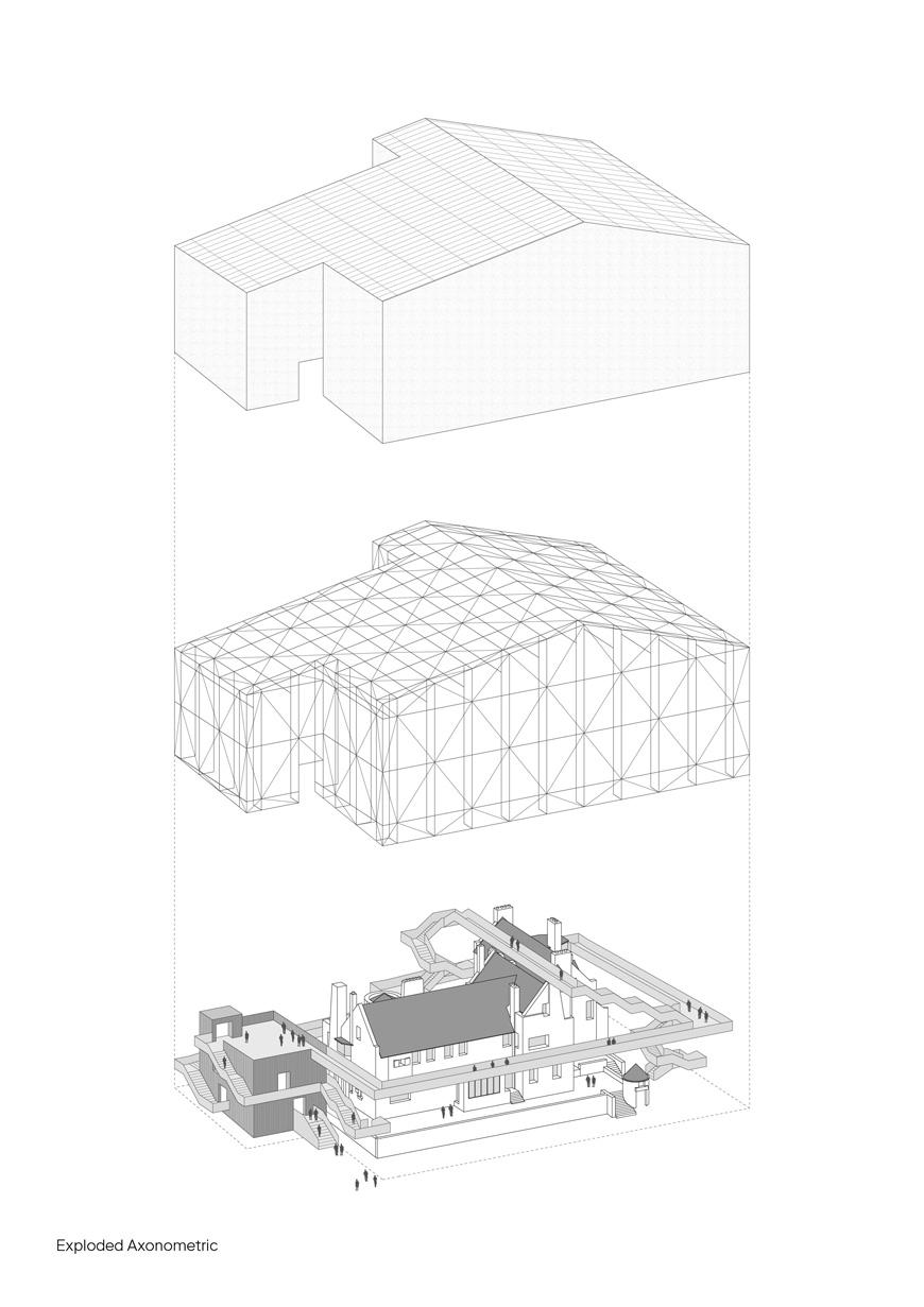 Carmody-groarke-hill-house-box-ground-floor-exploded-axonometric