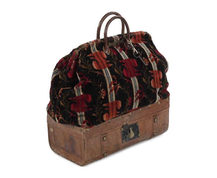 Carpet bag. Late 19th century (c)- Bags-Victoria and Albert Museum -London