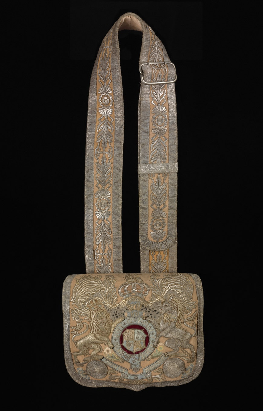 Cartridge Pouch- 1750s-United Kingdom (c) Victoria and Albert Museum- London
