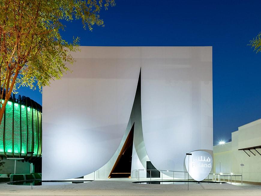 Finland Pavilion, EXPO 2020 Dubai, JKMM Architects, exterior