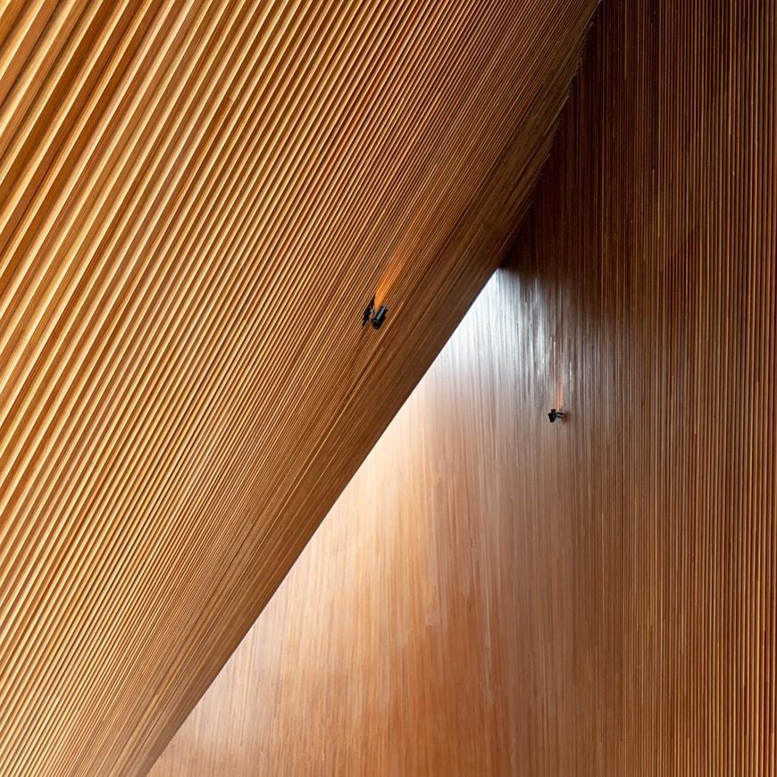 Finland Pavilion, EXPO 2020 Dubai, JKMM Architects, interior