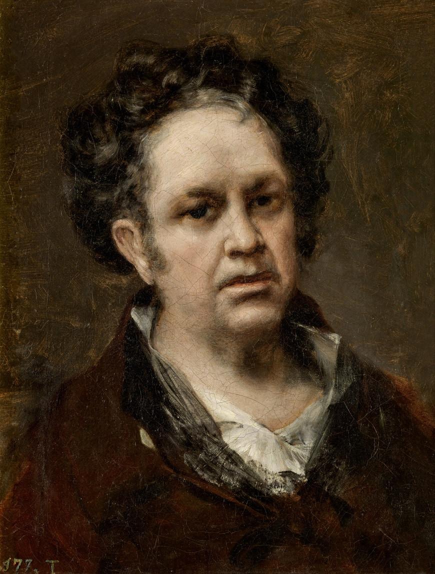 GOYA-Autorretrato-portrait-LAC