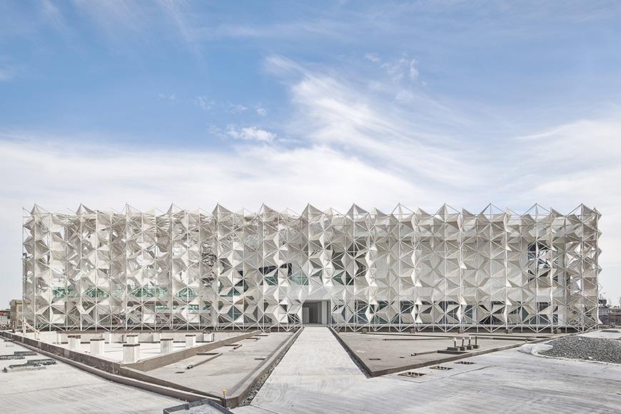 Japan Pavilion, EXPO Dubai 2020, Yuko Nagayama exterior 2