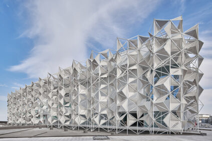 Japan Pavilion, EXPO Dubai 2020, Yuko Nagayama exterior
