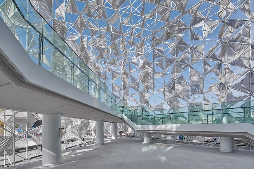 Japan Pavilion, EXPO Dubai 2020, Yuko Nagayama interior