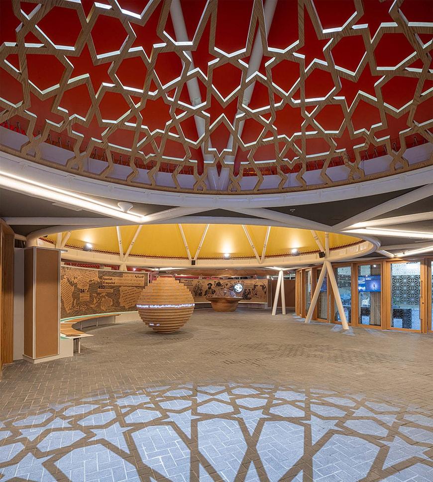 Pavilion of Spain, Expo 2020 Dubai, Amann-Cánovas-Maruri, interior 2