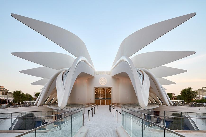 EXPO 2020 Dubai, United Arab Emirates Pavilion, Architect Santiago Calatrava